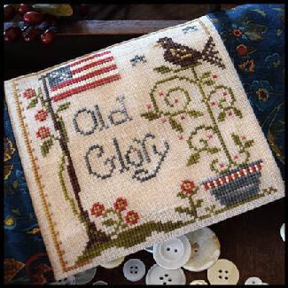 Old Glory - Cross Stitch Pattern