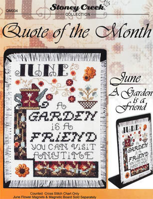 Quote of the Month June - Cross Stitch Pattern
