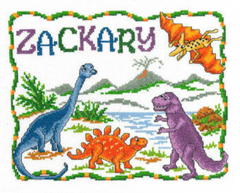 Dinosaurs Cross Stitch Patterns Amp Kits 123stitch Com