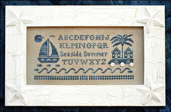Seaside Summer Alphabet - Cross Stitch Pattern