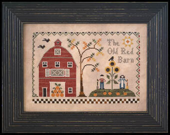 Old Red Barn, The - Cross Stitch Pattern