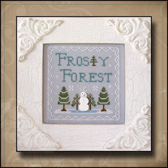 Frosty Forest - Cross Stitch Pattern