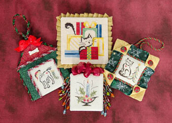 Christmas Ornaments - Cross Stitch Pattern