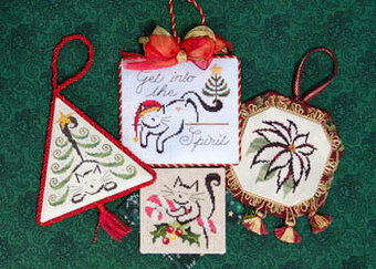 Christmas Ornaments II - Cross Stitch Pattern