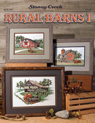 Rural Barns I - Cross Stitch Pattern