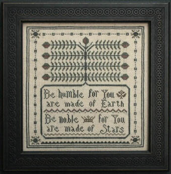 Serbian Proverb - Cross Stitch Pattern
