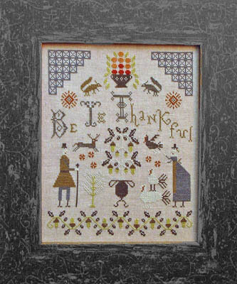 Be Ye Thankful - Cross Stitch Pattern