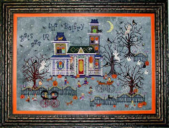 Darkwing Manor - Cross Stitch Pattern