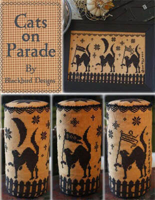 Cats on Parade - Cross Stitch Pattern