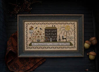 Ghoultide Welcome, A - Cross Stitch Pattern