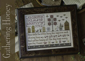 Gathering Honey - Cross Stitch Pattern