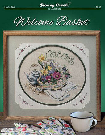 Welcome Basket - Cross Stitch Pattern