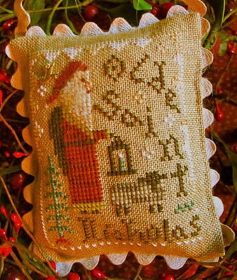 Olde Saint Nicholas (w/charm) - Cross Stitch Pattern