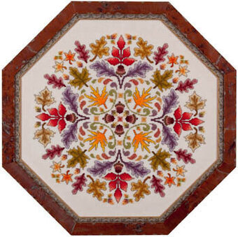 Autumn Ala Round - Cross Stitch Pattern