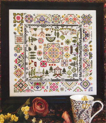Quaker Village - Cross Stitch Pattern