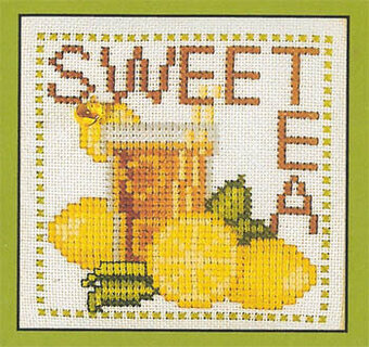 Sweet Tea (Word Play) - Cross Stitch pattern