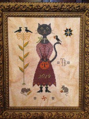 Miss Isabelle Black - Cross Stitch Pattern