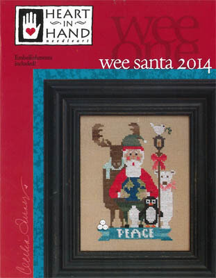 Wee Santa 2014 - Cross Stitch Pattern