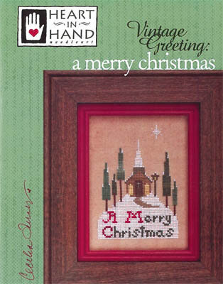 Merry Christmas, A - Cross Stitch Pattern