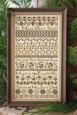 It Must Have Been the Mistletoe - Cross Stitch Pattern