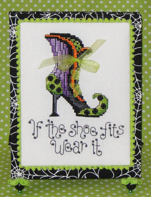 Witch's Shoe - Cross Stitch pattern