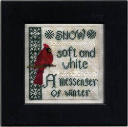 Winter Messenger - Cross Stitch Pattern