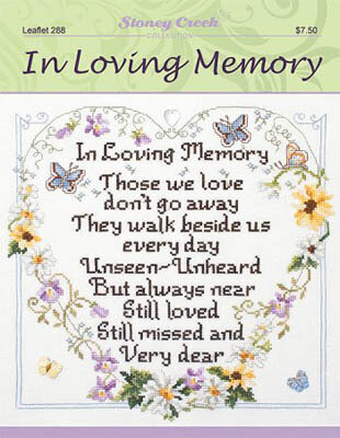In Loving Memory - Cross Stitch Pattern