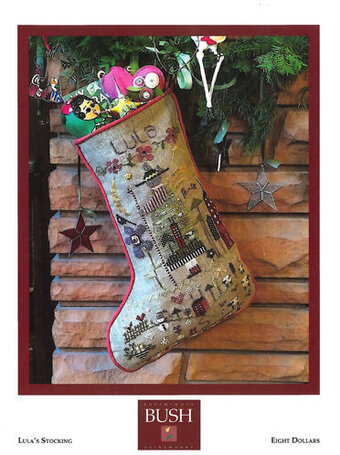 Lula's Stocking - Cross Stitch Pattern