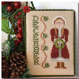 Calendar Girl December - Cross Stitch Pattern