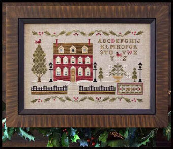 Lantern Lane - Cross Stitch Pattern