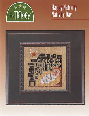 Happy Nativity Nativity Day - Cross Stitch Pattern