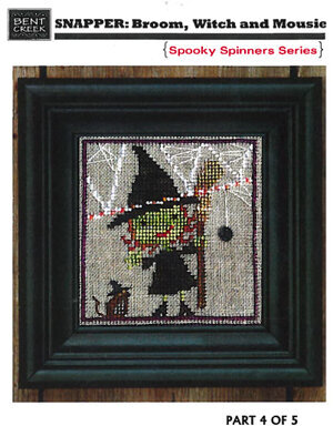 Broom Witch & Mousie (Spooky Spinner)
