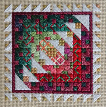 Holiday Bells - Needlepoint Pattern