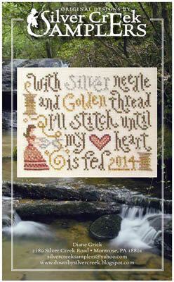 Stitching Feeds My Heart - Cross Stitch Pattern