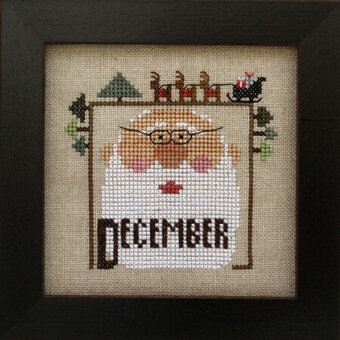 Joyful Journal - December - Cross Stitch Pattern