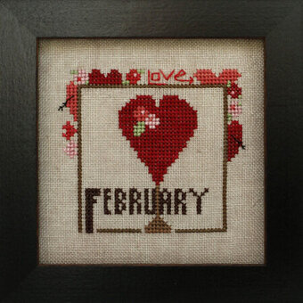 Joyful Journal - February - Cross Stitch Pattern