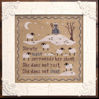 Jubilee's Sheep - Cross Stitch Pattern