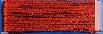 YLI Ribbon Floss -- Metallic 017 Dark Red