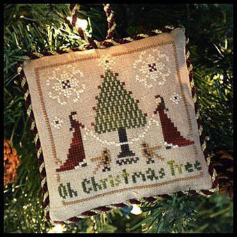 Oh Christmas Tree (Sampler Tree) - Cross Stitch Pattern