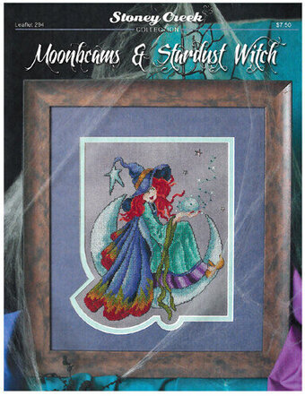 Moonbeams & Stardust Witch - Cross Stitch Pattern