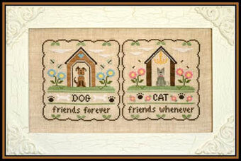 Furry Friends - Cross Stitch Pattern