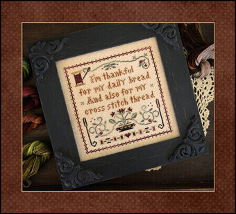 Giving Thanks (w/thread) - Cross Stitch Pattern