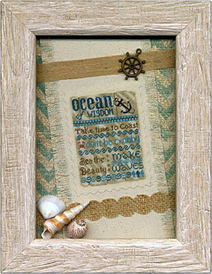 Ocean of Wisdom - Cross Stitch Pattern