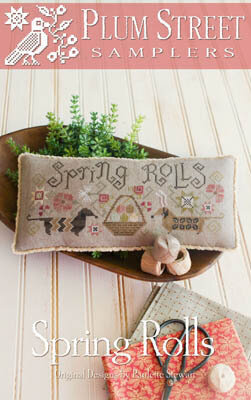 Spring Rolls - Cross Stitch Pattern