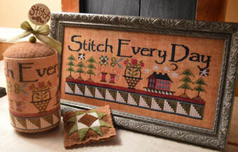 Stitch Every Day - Cross Stitch Pattern