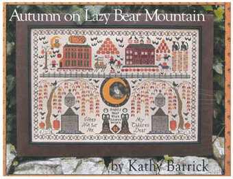 Autumn on Lazy Bear Mountain - Cross Stitch Pattern