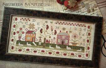 Shepherd's Sampler, A - Cross Stitch Pattern