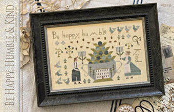 Be Happy Humble & Kind - Cross Stitch Pattern