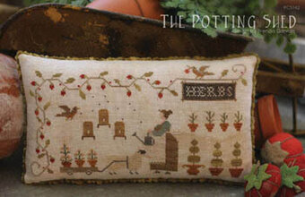 Potting Shed, The - Cross Stitch Pattern