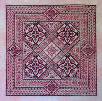 Shades of Rose - Cross Stitch Pattern